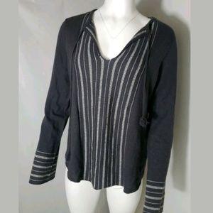Joie Cashmere Boho Peasant Light Sweater